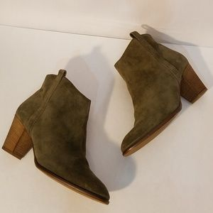 Madewell The Billie Suede Ankle Boots
